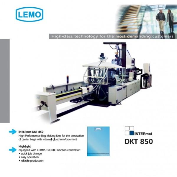 Μηχάνημα πλαστικών -INTERMAT DKT 850